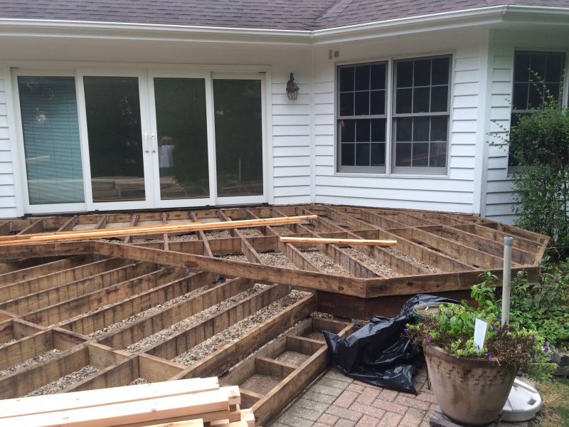 Deck Installation Algonquin