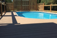 AZEK Pool Deck Installation