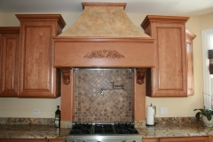 Kitchen stove remodel