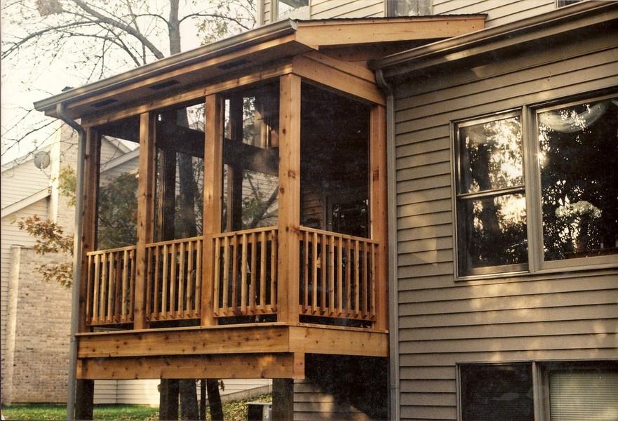 Custom Deck Builder Of Wood Composite Decks Crystal Lake Il Brad F Beller Construction