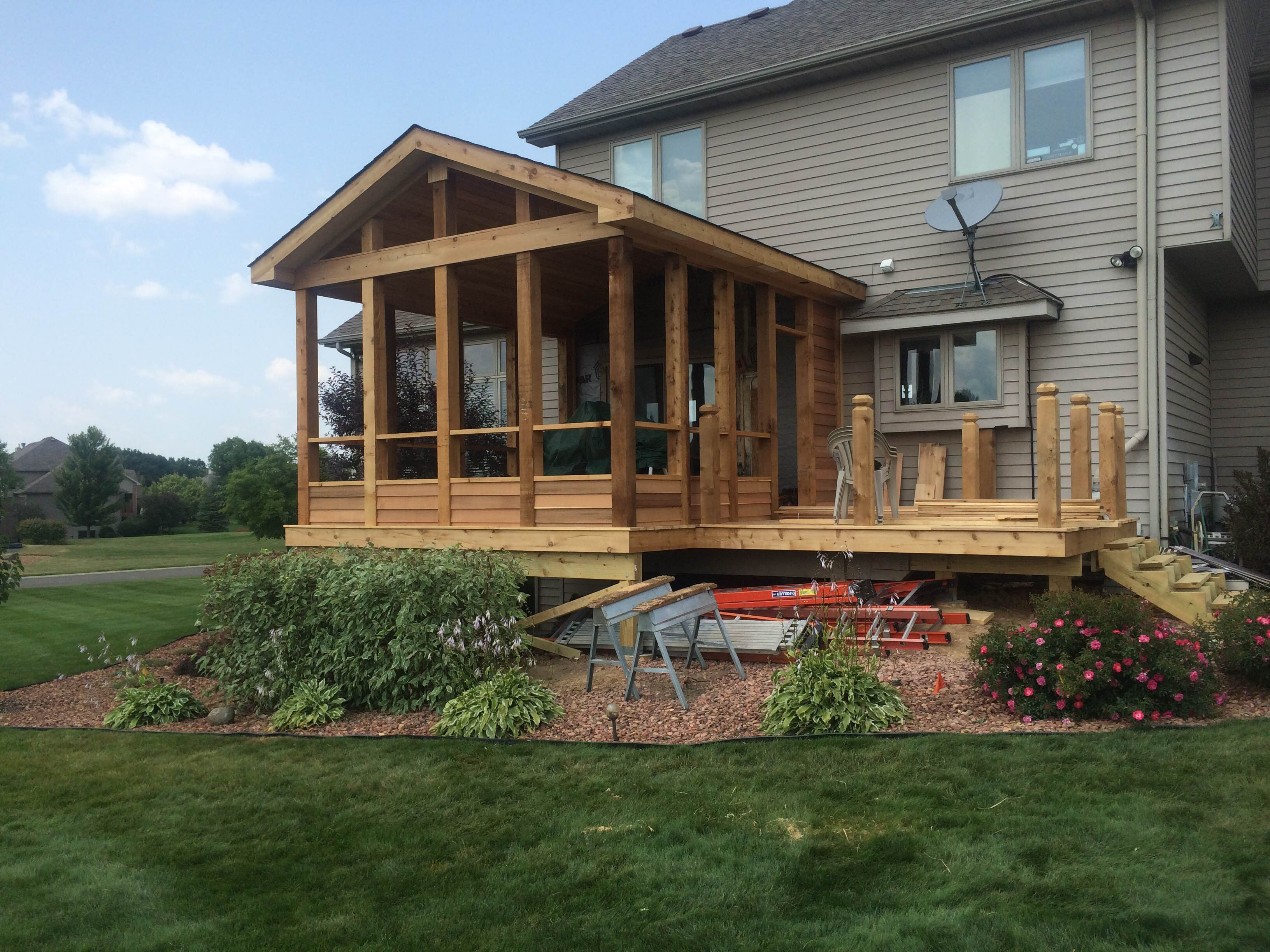 Crystal Lake Il Home Remodeling Contractor Pool Deck